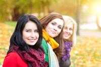 3+femmes+automne
